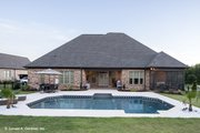 Traditional Style House Plan - 3 Beds 2 Baths 1974 Sq/Ft Plan #929-924 Exterior - Rear Elevation
