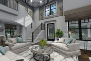 Farmhouse Style House Plan - 3 Beds 2.5 Baths 2214 Sq/Ft Plan #120-261 Interior - Entry