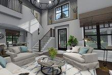 Dream House Plan - Farmhouse Interior - Entry Plan #120-261