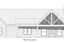 House Design - Traditional Exterior - Front Elevation Plan #932-408