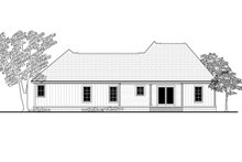 Dream House Plan - Traditional Exterior - Rear Elevation Plan #430-161