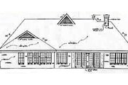 European Style House Plan - 3 Beds 2.5 Baths 2350 Sq/Ft Plan #34-115