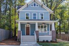 House Plan Design - Craftsman Exterior - Front Elevation Plan #79-317
