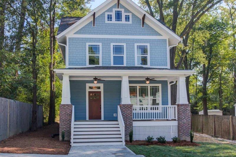 Home Plan - Craftsman Exterior - Front Elevation Plan #79-317