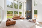 Contemporary Style House Plan - 4 Beds 2.5 Baths 3384 Sq/Ft Plan #1066-121 Interior - Family Room