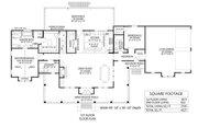 Farmhouse Style House Plan - 4 Beds 3 Baths 2705 Sq/Ft Plan #1074-48