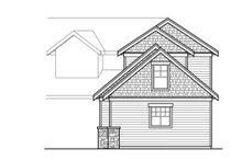 Traditional Exterior - Other Elevation Plan #124-1033