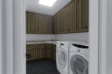 Home Plan - Mediterranean Interior - Laundry Plan #1060-29