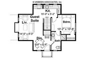 Craftsman Style House Plan - 5 Beds 5.5 Baths 5906 Sq/Ft Plan #928-63 Floor Plan - Other Floor