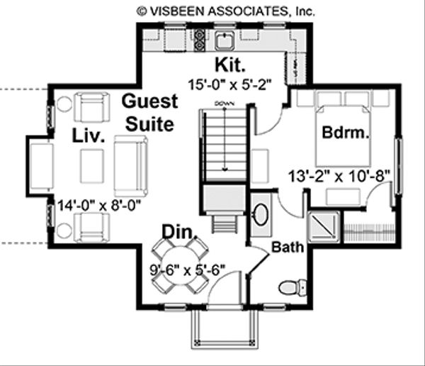 House Plan Design - Optional Bonus Guest Suite