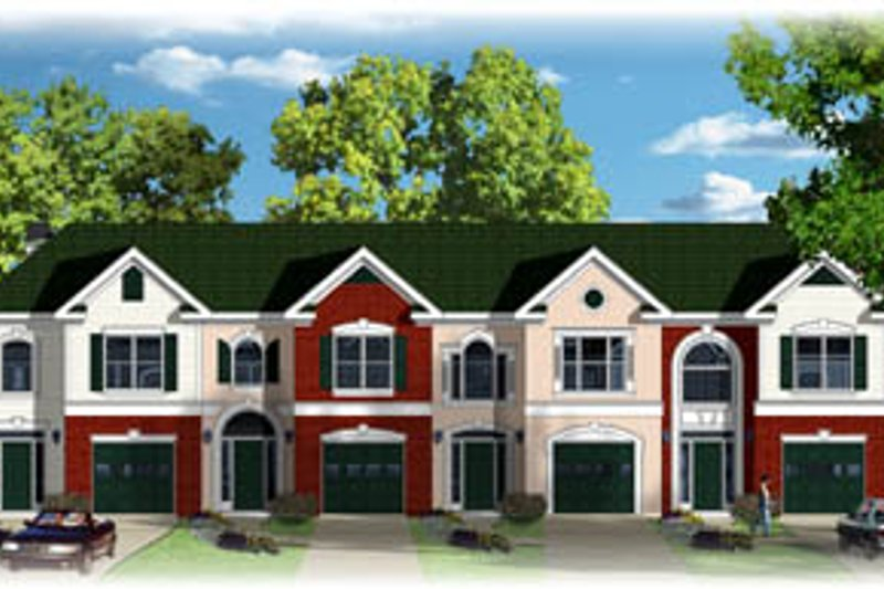 Traditional Style House Plan - 3 Beds 2.5 Baths 5888 Sq/Ft Plan #26-231 Exterior - Front Elevation