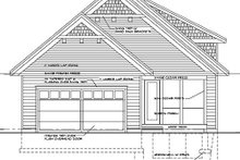 Dream House Plan - Craftsman Exterior - Rear Elevation Plan #51-346