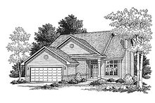 House Plan Design - Traditional Photo Plan #70-170