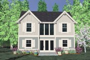 Traditional Style House Plan - 2 Beds 2 Baths 892 Sq/Ft Plan #509-16 Exterior - Front Elevation