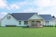 Farmhouse Style House Plan - 3 Beds 2.5 Baths 2088 Sq/Ft Plan #1070-31 Exterior - Rear Elevation