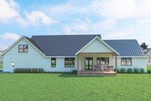 Farmhouse Exterior - Rear Elevation Plan #1070-31