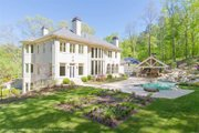 Classical Style House Plan - 5 Beds 7 Baths 5699 Sq/Ft Plan #119-363 Exterior - Rear Elevation