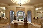 Mediterranean Style House Plan - 5 Beds 5.5 Baths 6780 Sq/Ft Plan #27-216 Interior - Master Bathroom