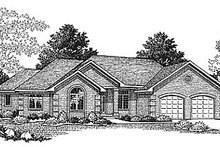 House Design - Ranch Photo Plan #70-217
