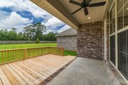 Ranch Style House Plan - 4 Beds 2 Baths 1889 Sq/Ft Plan #430-182 Exterior - Covered Porch
