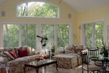 Dream House Plan - Traditional Interior - Family Room Plan #70-555