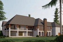 House Plan Design - Craftsman Exterior - Rear Elevation Plan #923-189