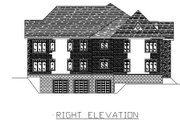 European Style House Plan - 3 Beds 2 Baths 10456 Sq/Ft Plan #138-266 Exterior - Other Elevation