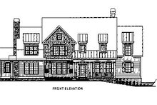 Dream House Plan - Traditional Exterior - Other Elevation Plan #419-123