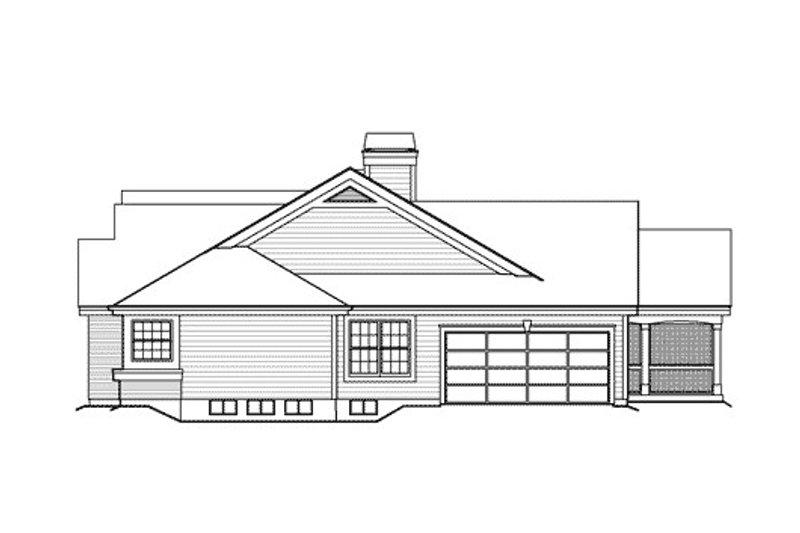 Farmhouse Exterior - Other Elevation Plan #57-377 - Houseplans.com