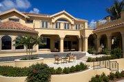Mediterranean Style House Plan - 5 Beds 5.5 Baths 6045 Sq/Ft Plan #548-3