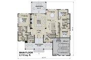 Farmhouse Style House Plan - 3 Beds 2 Baths 2112 Sq/Ft Plan #51-1169 Floor Plan - Main Floor