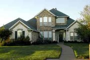 Traditional Style House Plan - 4 Beds 4 Baths 3077 Sq/Ft Plan #84-188 Exterior - Front Elevation