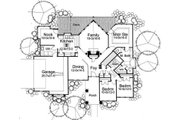 Prairie Style House Plan - 3 Beds 2 Baths 1830 Sq/Ft Plan #120-150 Floor Plan - Main Floor Plan