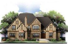 House Plan Design - European Exterior - Front Elevation Plan #119-351
