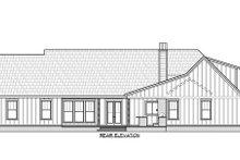 House Plan Design - Farmhouse Exterior - Rear Elevation Plan #1074-42