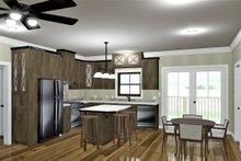 Ranch Interior - Kitchen Plan #44-239