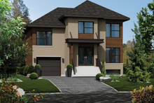 Contemporary Exterior - Front Elevation Plan #25-4285