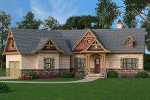Craftsman Exterior - Front Elevation Plan #119-369