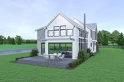 Contemporary Style House Plan - 4 Beds 3.5 Baths 3021 Sq/Ft Plan #1070-84 Photo