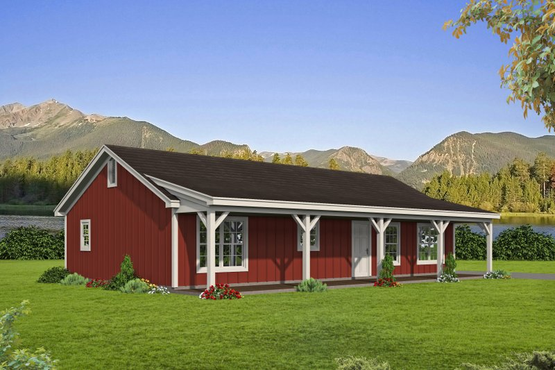 House Plan Design - Traditional Exterior - Front Elevation Plan #932-447