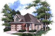 Traditional Style House Plan - 3 Beds 3 Baths 2098 Sq/Ft Plan #37-170 Exterior - Front Elevation