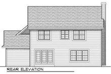 Dream House Plan - European Exterior - Rear Elevation Plan #70-701