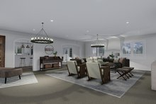 Ranch Interior - Family Room Plan #1060-13
