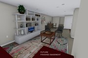 Ranch Style House Plan - 2 Beds 1 Baths 931 Sq/Ft Plan #1060-38