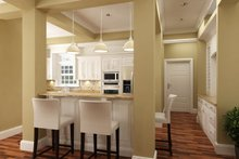 Traditional Interior - Kitchen Plan #45-380
