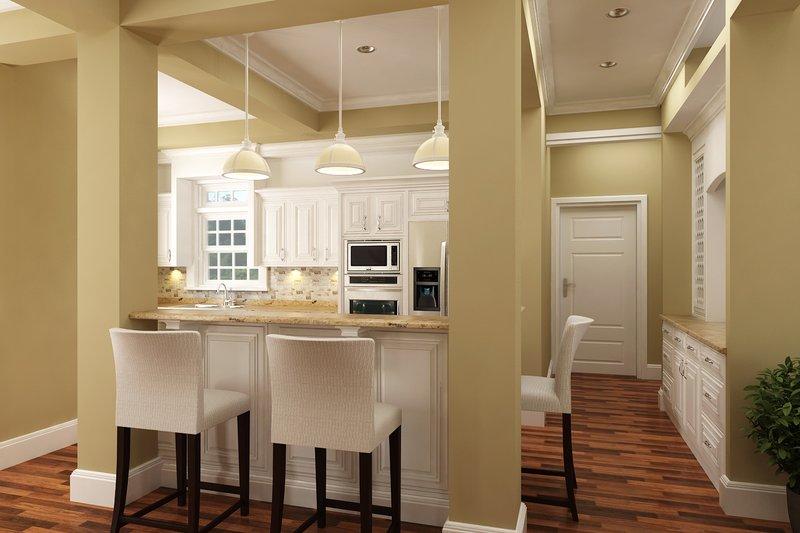 Traditional Interior - Kitchen Plan #45-380 - Houseplans.com