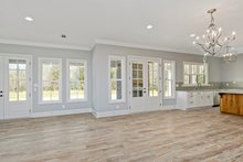 Dream House Plan - Farmhouse Interior - Family Room Plan #63-430