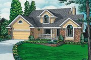 Traditional Style House Plan - 3 Beds 2.5 Baths 1858 Sq/Ft Plan #20-2031 Photo