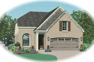 Traditional Exterior - Front Elevation Plan #81-13618