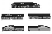 Farmhouse Style House Plan - 3 Beds 2 Baths 2242 Sq/Ft Plan #1077-3 Exterior - Other Elevation
